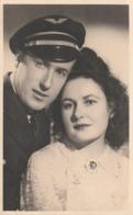 Rare Cpa Photo Aviateur Et Sa Femme - 1939-45