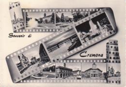 CREMONA - VEDUTINE MULTIVUES - VIAGGIATA 1963 - Cremona