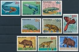 Polen - Prähistorische Tiere - Einwandfrei Postfrisch/** - Preistorici