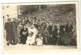 """5592 """" RICORDO DI MATRIMONIO A VALBORNENGO IL 21/1/1942 """" FOTO ORIGINALE - Personnes Anonymes"""