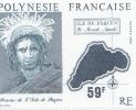 354/57  ILE DE PAQUES   TIMBRE RETIRE DE LA VENTE  Luxe Sans Charniéres (657) - Polynésie Française