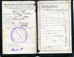 N°77528 -carte Fédération Des Mécaniciens Et Chauffeurs  -CAEN- - Caen