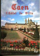 N°77529 -dépliant Caen -hôtel De Ville - - Caen