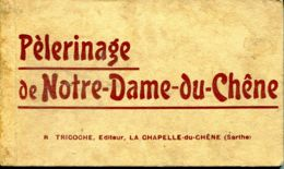 N°77532 -carnet Pèlerinage De Notre Dame Du Chêne - Other Municipalities