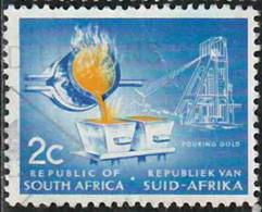 Afrique Du Sud 1961 Yv. N°251 - L'or - Oblitéré - Zuid-Afrika (1961-...)