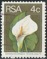 Afrique Du Sud 1974 Yv. N°362 - Zantedeschia Ethiopica - Oblitéré - Zuid-Afrika (1961-...)