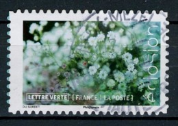FRANCE 2019 / ECLOSION Fleurs OBL.ronde - Adhésifs (autocollants)