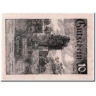 Billet, Autriche, Eggenburg, 10 Heller, Paysage, 1920, 1920-12-31, SPL - Austria
