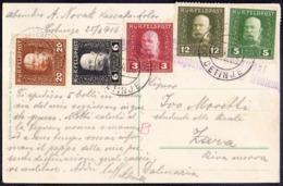 MONTENEGRO - AUSTRIA - ETAPENPOST  CETINJE  FELDPOST - 1916 - Montenegro