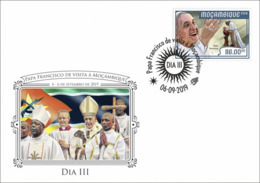 Mozambico 2019, Pope Francis Visit Mozambico, FDC3 - Mozambique