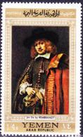 Jemen (YAR **) - Rembrandt-Gemälde (MiNr: B 751/3) 1968 - Postfrisch MNH - Yemen