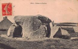 BELZ  - Dolmen De  KERHIEN  ( Theme Dolmen Menhir ) - France