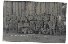 72/ SARTHE... Carte Postale Photo Souvenir Du CAMP D'AUVOURS. Réserviste 1928 - Francia