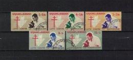 BURUNDI , 1964 , Oo , Used , Gestempelt , Mi.Nr. 137 A -141 A - Burundi