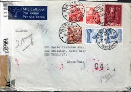 LETTRE 1944 - CENSURE ALLEMANDE - - Switzerland