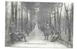 72/ SARTHE...Les Américains Au  CAMP D'AUVOURS. - Other Municipalities