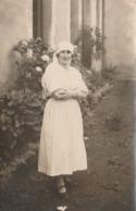 Rare Carte Photo  Infirmière - Métiers