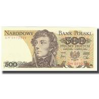 Billet, Pologne, 500 Zlotych, 1982, 1988-12-01, KM:145a, NEUF - Pologne