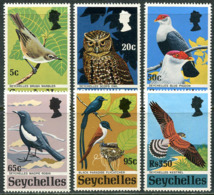 Seychelles 1972. Michel #301/06 MNHLuxe. Rare Birds. (Ts17) - Seychellen (1976-...)