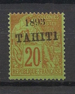 Tahiti - 1893 - N°Yv. 25 - Alphée Dubois 20c Brique Sur Vert - Neuf Luxe ** / MNH / Postfrisch - Tahiti (1882-1915)