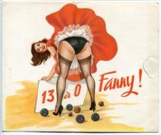 Carte En Livret : Le Club De La Boule Terrible à L'avantage De Vous Présenter ... FANNY  13 à 0 - Bocce
