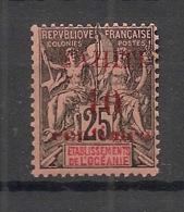Tahiti - 1903 - N°Yv. 31 - 10c Sur 25c Noir Sur Rose - Neuf Luxe ** / MNH / Postfrisch - Tahiti (1882-1915)