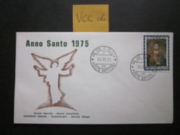 VCC 06  VATICAN CITY 1974 HOLY YEAR 25L VALUE, SOUVENIR? COVER - FDC
