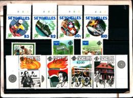 7175B) SEYCHELLES-LOTTO DI FRANCOBOLLI- MNH** - Seychellen (1976-...)