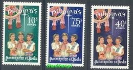 Philippines 1968 Mi 863-865 MNH ( ZS8 PLP863-865 ) - Filipinas
