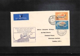 Great Britain 1959 First British Air Mail Service Between Moscow _ London - Briefe U. Dokumente