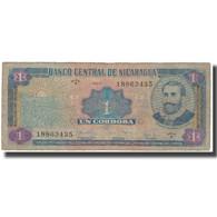 Billet, Nicaragua, 1 Cordoba, KM:107, TB+ - Nicaragua