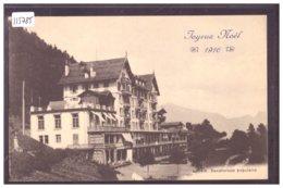 DISTRICT D'AIGLE - LEYSIN - SANATORIUM POPULAIRE - JOYEUX NOEL 1916 - TB - VD Vaud