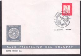 Uruguay - 1987 - FDC - Cachets Spéciaux - Héros Nationaux - Rivera - Uruguay
