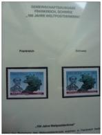 Emissioni Congiunte FRANCIA 2009, Rene De Saint Marceaux  Joint Issue Switzerland - 2 Serie Cpl. 2v. Nuovi** - Emissioni Congiunte