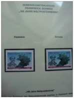 Emissioni Congiunte FRANCIA 2009, Rene De Saint Marceaux  Joint Issue Switzerland - 2 Serie Cpl. 2v. Nuovi** - Gemeinschaftsausgaben