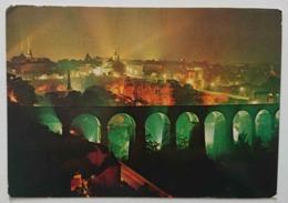 LUXEMBOURG - Les Illuminations Du Viaduc De Clausen Et Du Rocher Du Bock -  Vg - Lussemburgo - Città