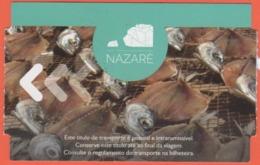 PORTOGALLO - PORTUGAL - 2019 - Serviços Municipalizados Do Município Da Nazaré - Ascensor Da Nazaré - Corsa Adulto - Use - Biglietti Di Trasporto