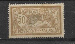 FRANCE   MERSON  N° 120 *  NEUF AVEC CHARNIERE - 1900-27 Merson