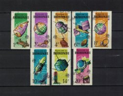 BURUNDI , 1965 , Oo , Used , Gestempelt , Mi.Nr. 167 A -174 A - Burundi