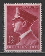 GERMANY - 1942 - ( Hitler's 53rd Birthday ) - MNH** - Duitsland