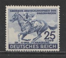 GERMANY - 1942 - ( 73rd Hamburg Derby ) - MNH** - Duitsland