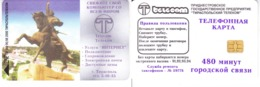Phonecard  Pridnestrovie. Tiraspol  480 Units R - Rusland