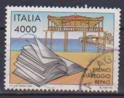 ITALia 1997 PREMIO VIAREGGIO - REPACI SASS. 2310 USATO VF - 6. 1946-.. Repubblica
