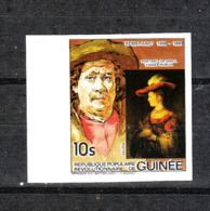 Guinea  - 1984. Embrandt: Ritratto Di Saskia. Portrait De Saskia. MNH, Imperf, Fresh - Rembrandt