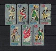 BURUNDI , 1965 , Oo , Used , Gestempelt , Mi.Nr. 183 A -189 A - Burundi