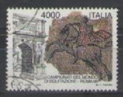 ITALia 1998 CAMPIONATI MONDIALI DI EQUITAZIONE SASS. 2370 USATO VF - 6. 1946-.. Repubblica