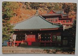 Temple - HONDO (main Hall) And Godai-do Hall  - Japan  Vg - Non Classificati