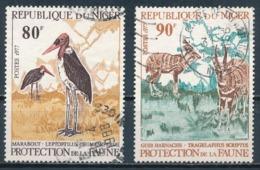 °°° NIGER - Y&T N°394/95 - 1977 °°° - Niger (1960-...)