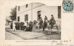 ALGERIE - ARMEE D'AFRIQUE - C.M. 11 Bis - Chasseurs - Inspection De La Garde - Phot. LEROUX Alger - - Algiers