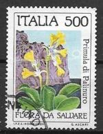 ITALia 1985 SALVAGUARDA DELLA NATURA SASS. 1721 USATO VF - 6. 1946-.. Repubblica